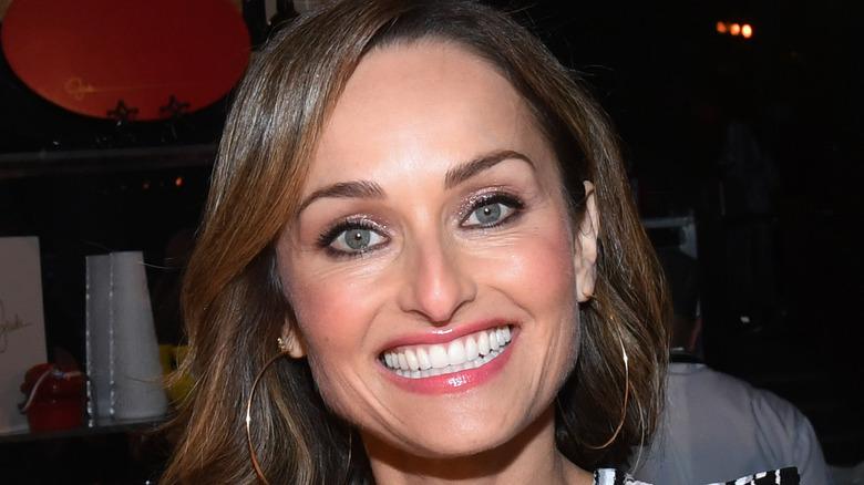Closeup of Giada De Laurentiis smiling