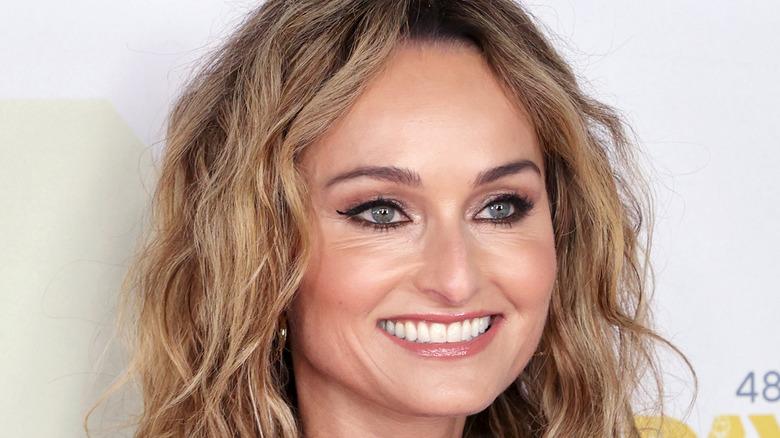 Giada De Laurentiis smiling at Daytime Emmys
