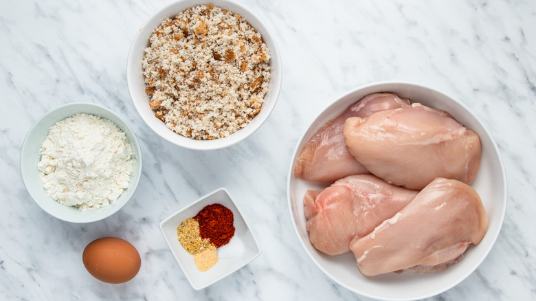 ingredients for chicken nuggets