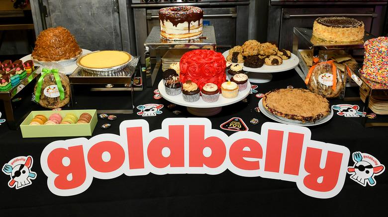 Goldbelly dessert feast display