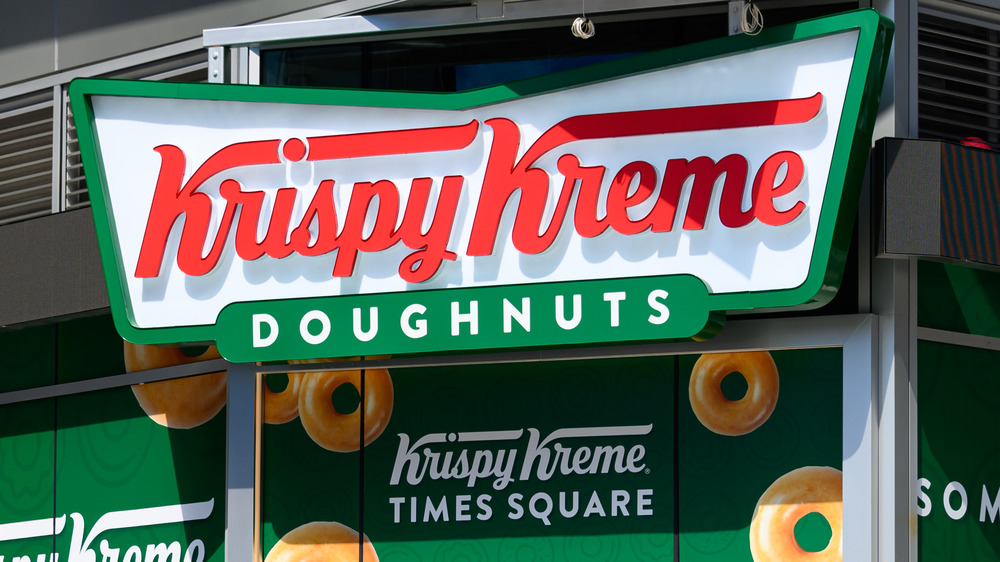 Storefront of Krispy Kreme Doughnuts