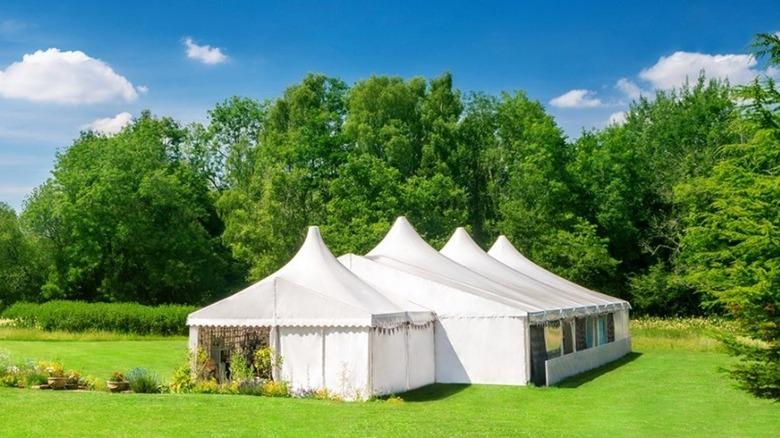 Great British Baking Show tent