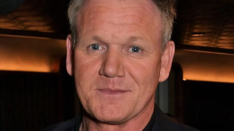 Gordon Ramsay looking perturbed