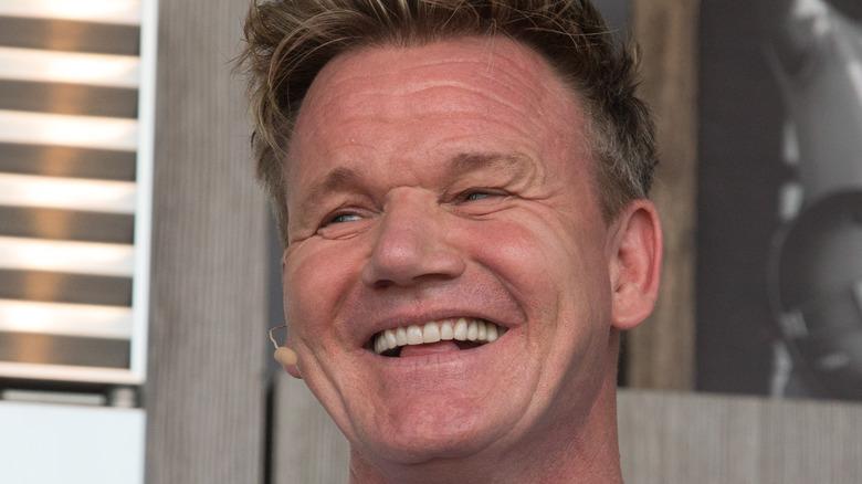 Gordon Ramsay laughing