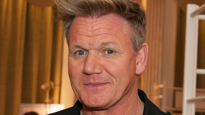 Gordon Ramsay closeup