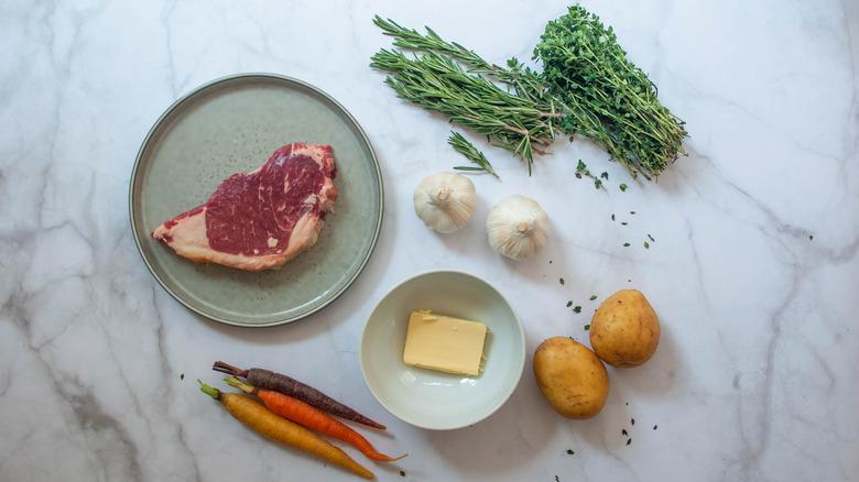 Gordon Ramsay's steak recipe with a twist ingredients