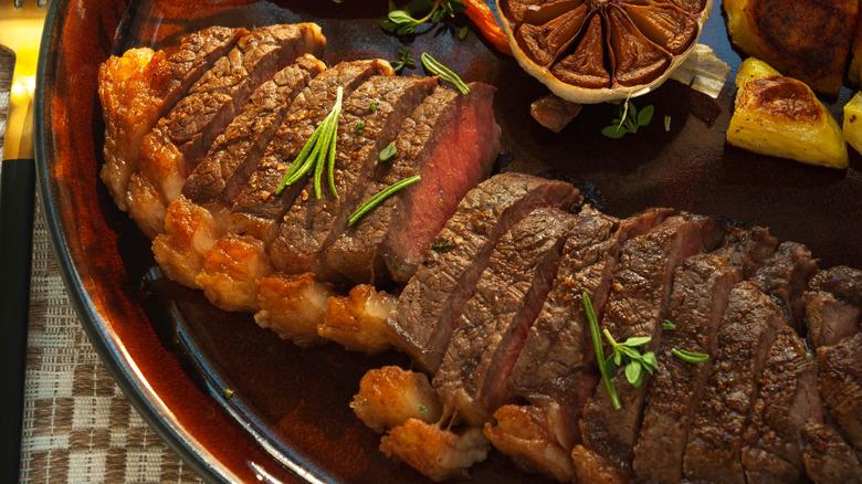 Gordon Ramsay's steak recipe with a twist cut
