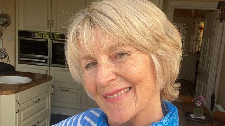 Nancy Birtwhistle in a kitchen