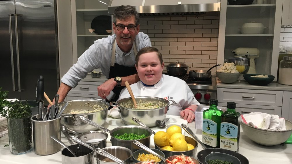 Chef Chris Hastings with Fuller Goldsmith