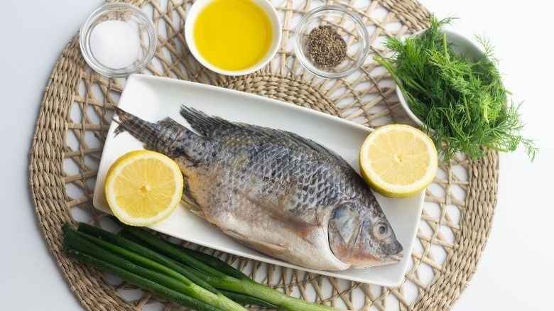grilled whole tilapia ingredients