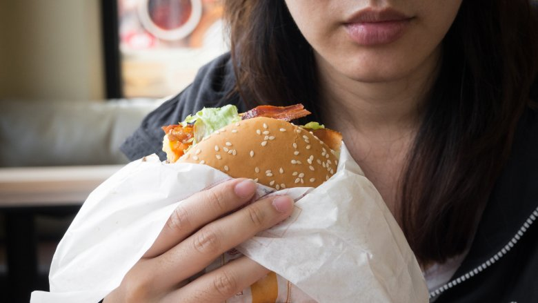 gross burger king burger