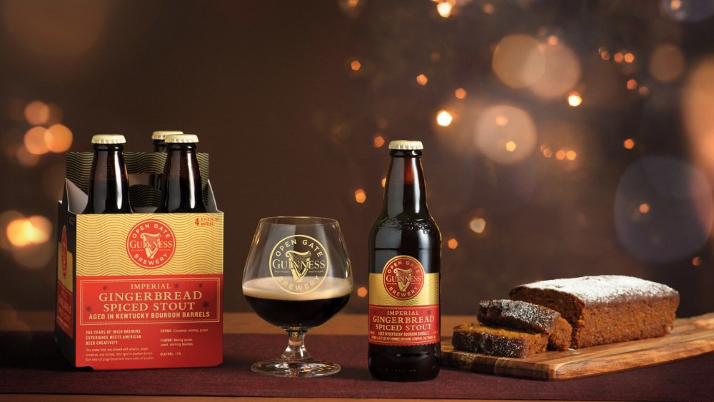 Guinness Imperial Gingerbread Spiced Stout, new holiday Guinness