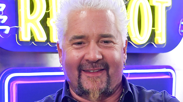 Guy Fieri smiling