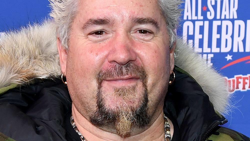 Guy Fieri in 2020, close-up