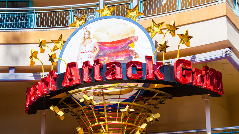 Heart Attack Grill sign