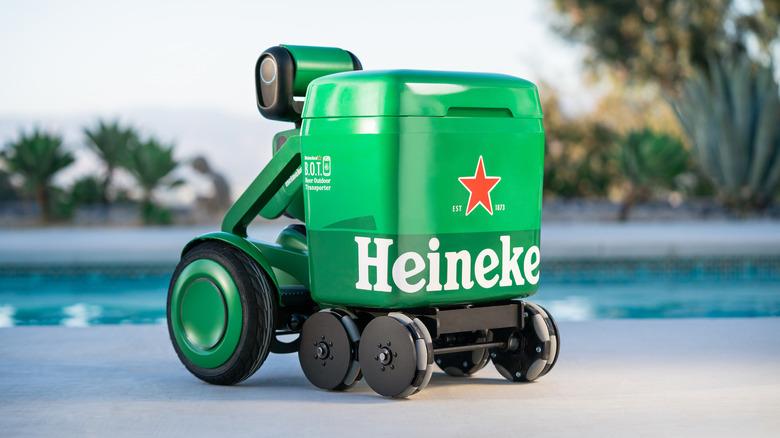 Heineken robot cooler