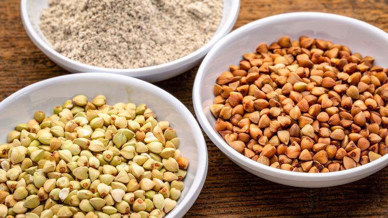 Buckwheat, kasha, and flour