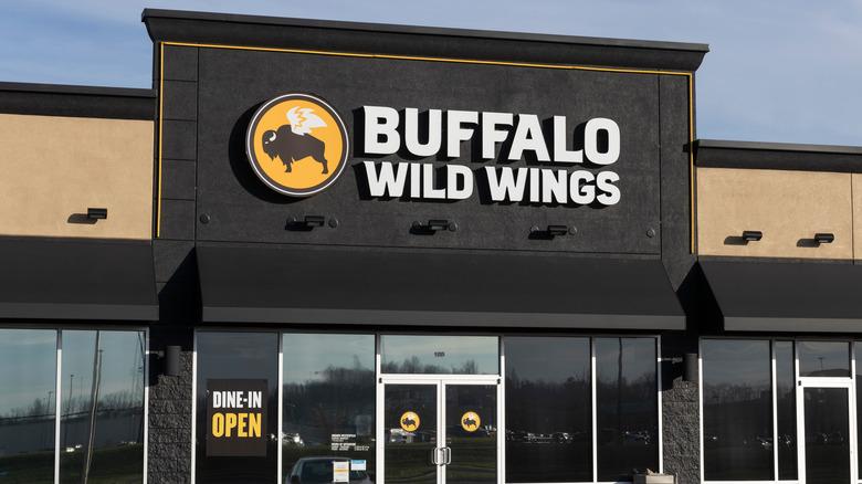A Buffalo Wild Wings restaurant.