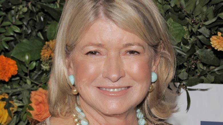 Martha Steward close-up