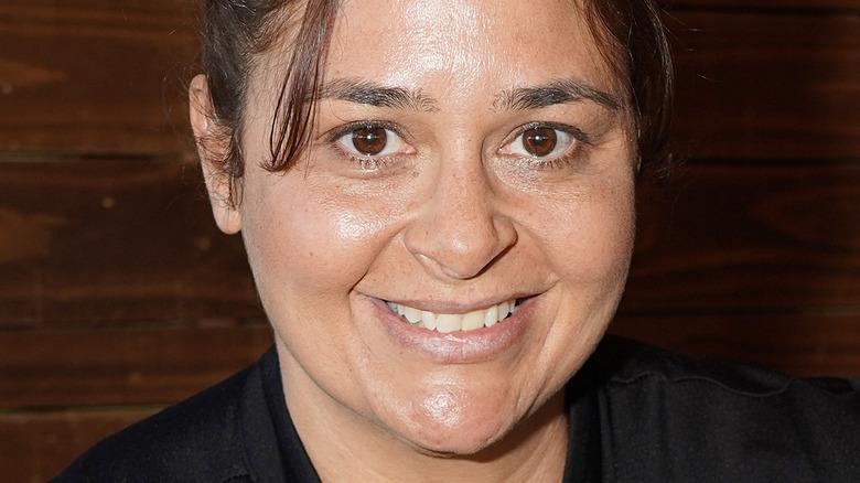 Antonia Lofaso smiling