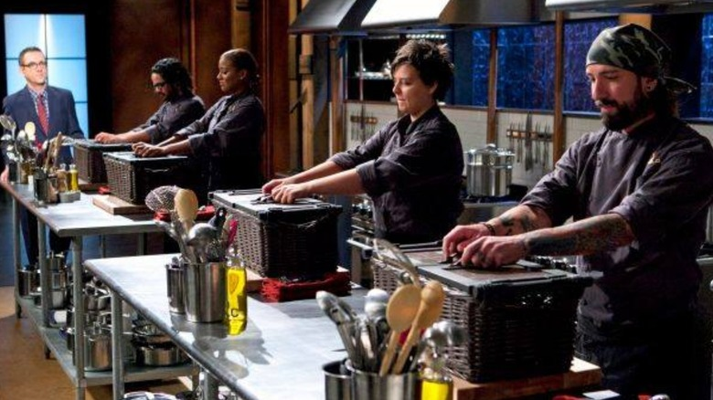 Contestants on Chopped