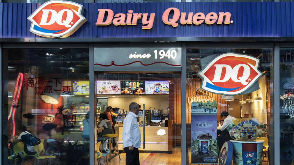 Exterior Dairy Queen restaurant