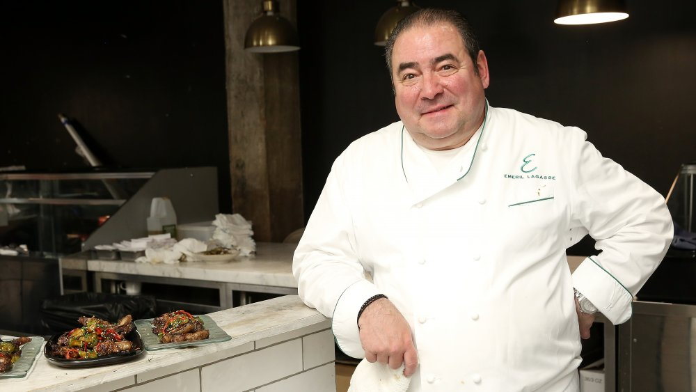 Emeril Lagasse in the kitchen