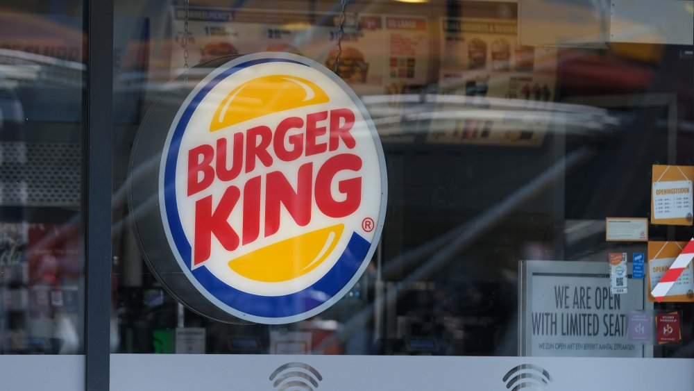 Burger King storefront window