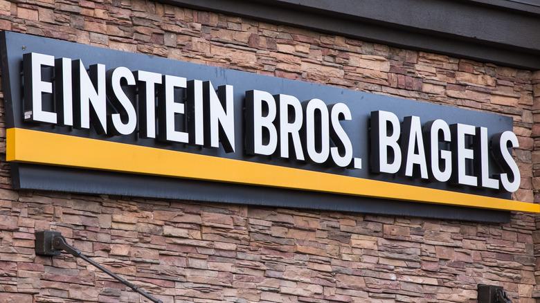 Einstein Bros. Bagels storefront