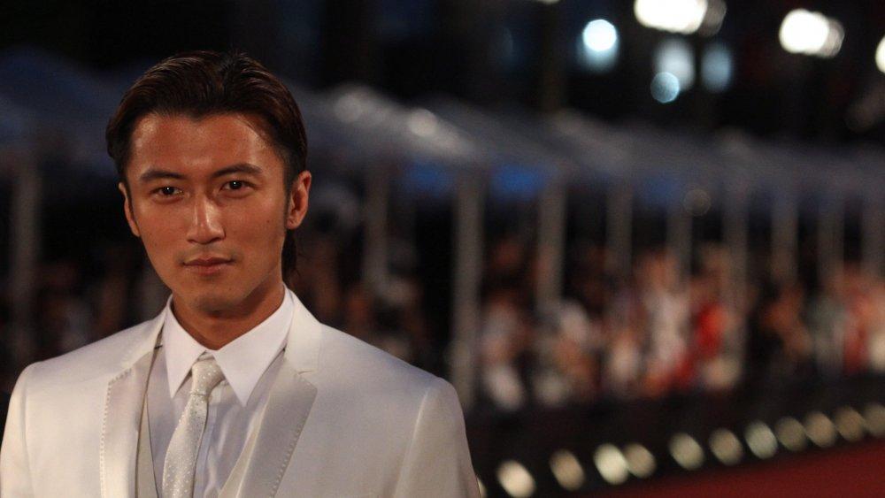Nicholas Tse on the red carpet