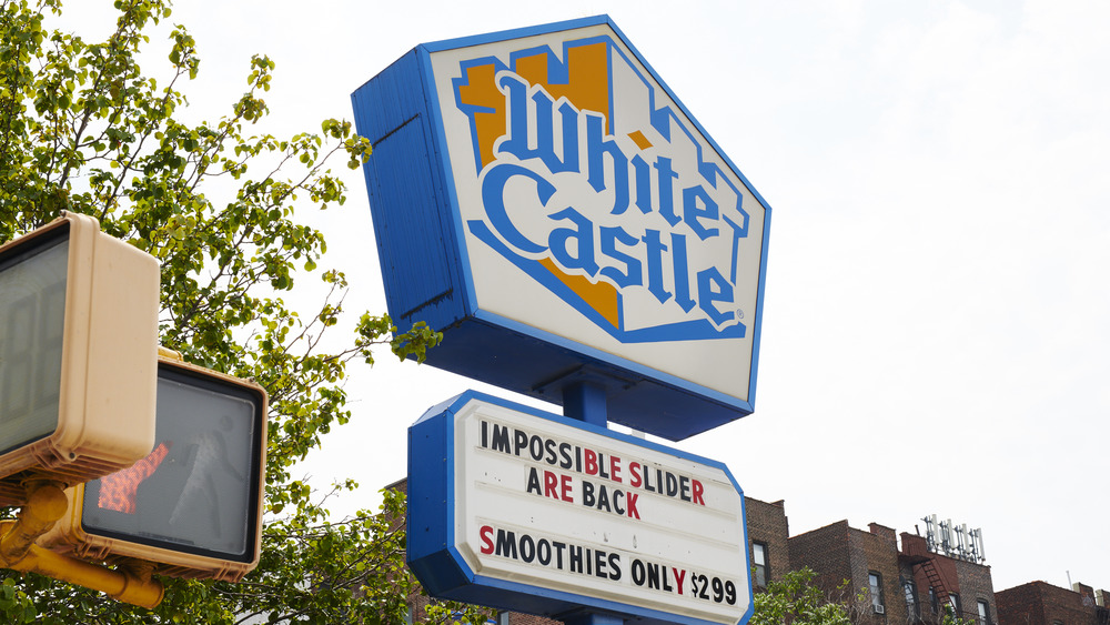 The outside of a White Castle