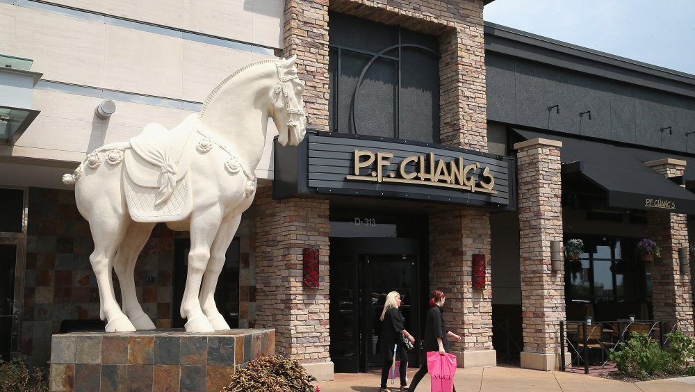 A P.F. Chang's storefront