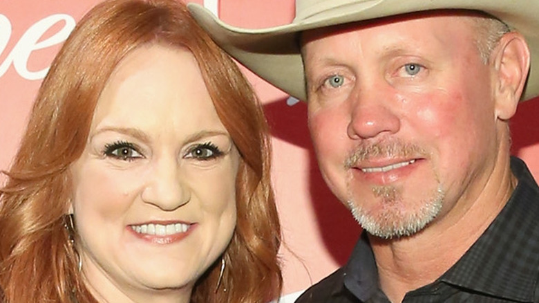 Ree Drummond with her husband, Ladd Drummond
