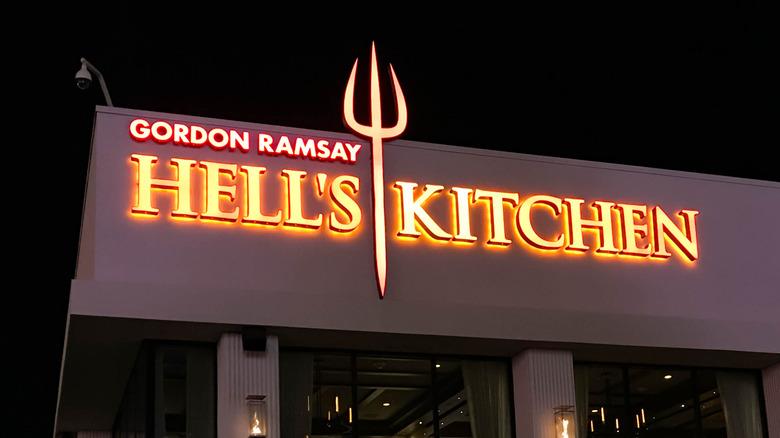 Hell's Kitchen Las Vegas exterior