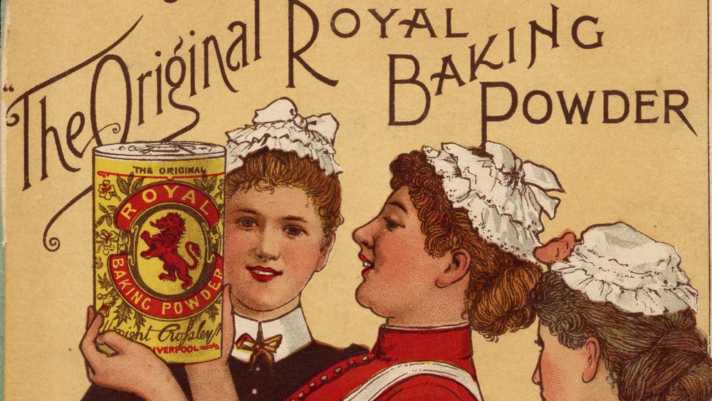 Vintage baking powder ad