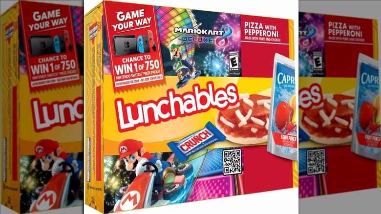 Lunchables Game Your Way box