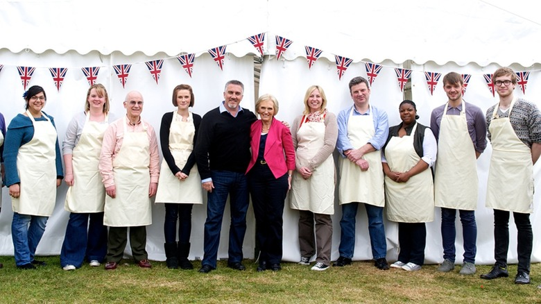 Great British Baking Show contestants