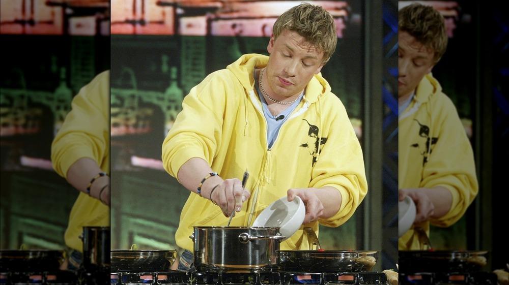 Jamie Oliver on Jay Leno in 2003