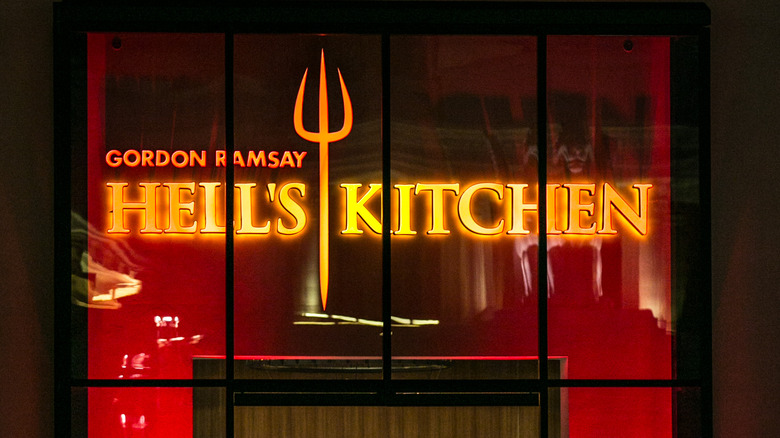sign at Las Vegas Hell's Kitchen