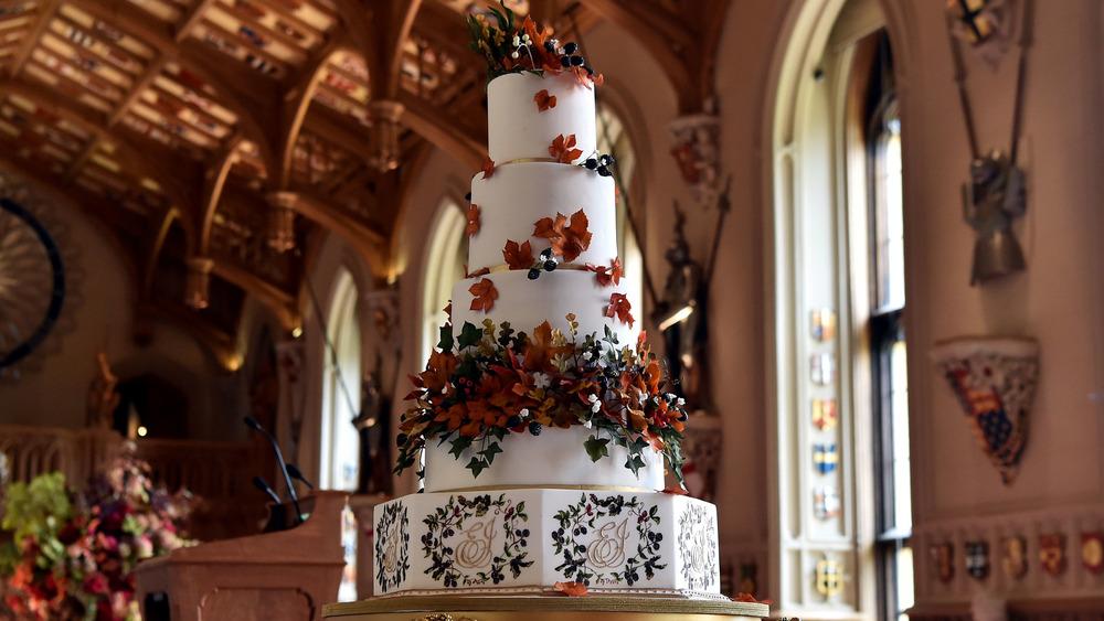 Princess Eugenie's wedding cake