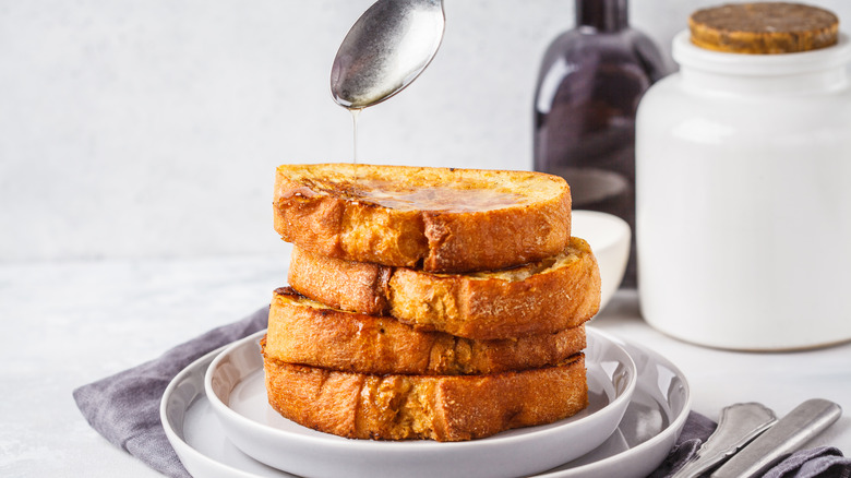 stack of French toast