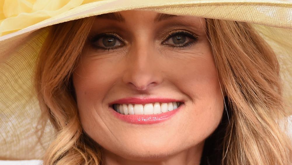 Giada De Laurentiis wearing hat