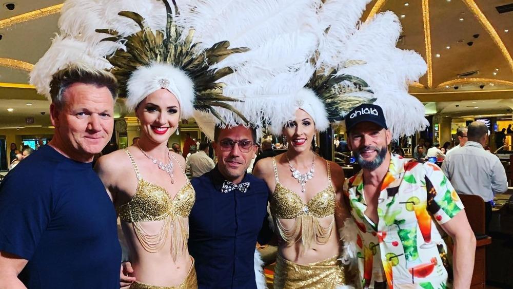 Ramsay, D'Acampo, and Sirieix in Las Vegas