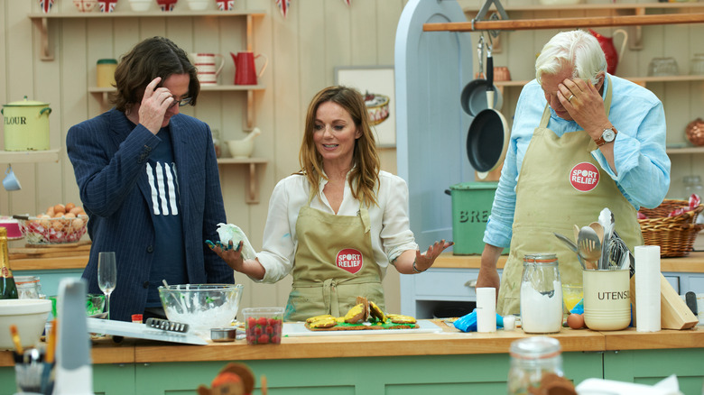 Inside the Great British Baking Show tent