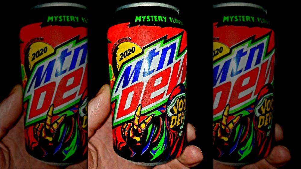 Mountain Dew VooDew 2020 can