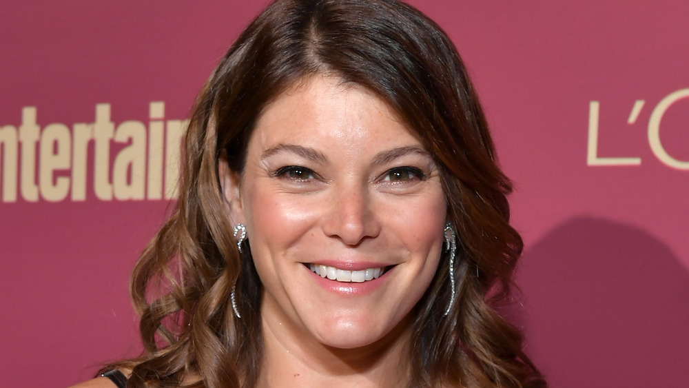 Gail Simmons smiling at event
