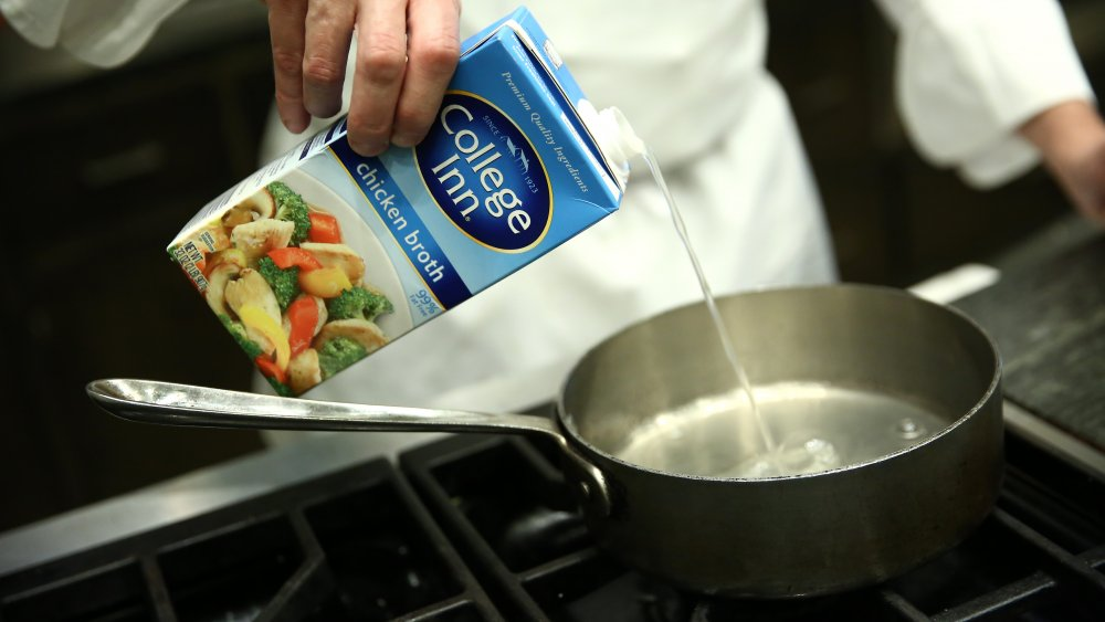 Chicken broth subsitutes