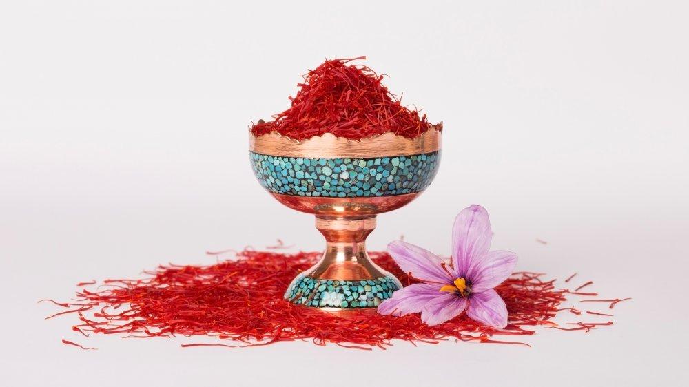 Cup of saffron