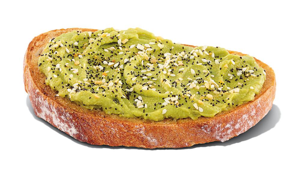 Dunkin' Donuts avocado toast