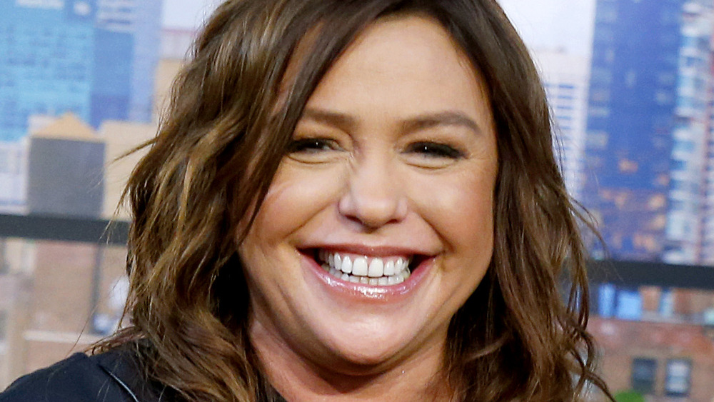 Close up of Rachael Ray smiling in black top